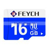 FEYCH Durable Waterproof Cold&Heat Resistance Anti-X-Ray High Speed up 48MB/sec Class 10 16GB Capacity Micro TF Memory Card