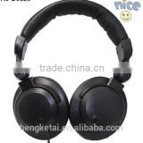 2016 TOP bass headphones earphone black headphone for DJ and computer as gifts
