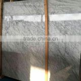 China elegant italian white marble slab bianco carrara tile