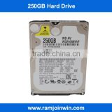 Large stock status and Laptop Application 2.5inch 5400rpm 250GB wireless 2.5 hdd enclosure