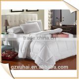 100% cotton natural Woven,Sewing and Embroidery dubai hotel bedding set in guangzhou xu hai textile product factory