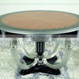 european french baroque royal noble round dining table furniture YL45#