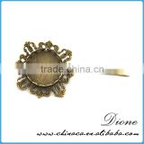 China factory new wholesale bulk brooch dubai charms antiqued broned sun flower brooches pins