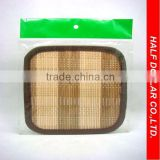 Four-edge-type Bamboo Mats/Table Mats/Placemats For One Dollar Item,Heat Resistant For Kitchen Use