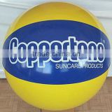 "Hot sale top quality promotion pvc 20"" beach ball"
