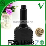 high quality black wholesale fancy motor oil plastic bottle with child proof cap
