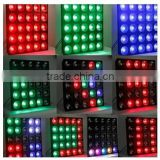 rgb led matrix flexible dot matrix display,high quality professional 25pcs*10w RGBW 4 in 1 led matrix light