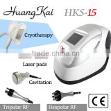 Super slim! 4 in 1 Effective RF & Cryotherapy & lipo laser machine for sale & cavitation liposuction cavitation machine for sale