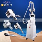 Skin Tightening Ultrasound Cavitation Radio Frequency Vacuum Roller Massage Break down Adipose Tissue
