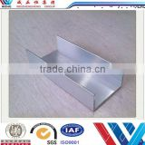 China aluminum profile free samples aluminum profile,U shape channel aluminum extruded profile