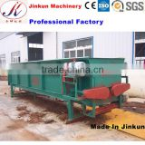 Wood log/tree bark peeling machine