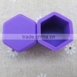 Purple Wheel Lug Nut Center Cover Cap 17mm silicone Hexagonal Protectors