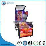 kids coin operated arcade amusement basketball game machine/luxurious basketball game machine for sale