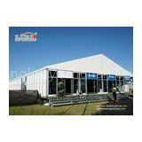 White Outdoor Exhibition Tents Aluminum Frame 3000 sqm For Event Party