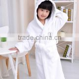 100% cotton hooded bathrobe,child kids bathrobes