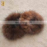 Factory wholesale Custom Elastic Mink Fur Kid Hair Accessory