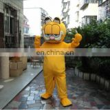 Sale Garfield cartoon mascot costume for exhibition