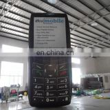 air-tight advertising inflatable mobile phone