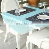 2015 Customized Pattern Disposable Cut Out Tablecloth 120 Round Tablecloth