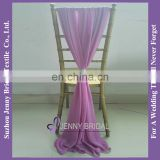 SH043D wholesale chiffon party chair covers