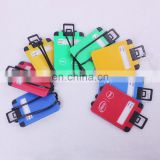Unique luggage-like shaped luggage tag wholesale