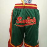 Seattle Supersonics Green Shorts