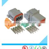 replacement automotive waterproof deutsch connectors DT04-8P DT06-8S dt series connector with terminals