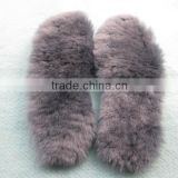 Electric shoe insole Wholesale Australian Sheepskin Wool Boot Insoles Shoe Bottom Foot Warmer Insole real sheepskin