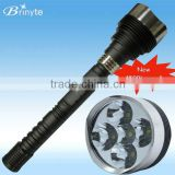 5*Cree XML T6 4500 lumen B10S multi led flashlight