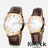 Charming IP Rose Gold Lovers Alloy Watch Water Proof Custom Watch