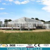 luxury transparent wedding tent guangzhou, big clear roof top tent for party catering and dining