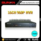 Hot sales 16CH h.264 network nvr with HDMI VGA Output and 2Sata                                                                         Quality Choice                                                                     Supplier's Choice