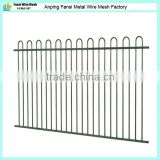 Loop top 1.2mx2.4m wrought iron pool fence panel for Australia