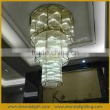 lighting factory made 3 tiers art glass hotel hallway ceiling pendant light