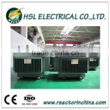three phase oil immersed electric transformers 11kV 33kv distribution power transformer manufacturer 2500kva