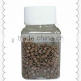 china hair products Hair extension apply micro rings,silicon micro ring,copper micro ring