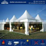 Water-proof and Sun-proof promotional wholesale 3x3 ez-up garden outdoor aluminum and steel gazebo / tent