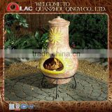2014 Hot customized size antique Mexican terracotta tandoori clay oven with metal stand