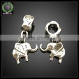 Wholesale metal animal pendants elephant shape jewelry accessories alloy pendant charms