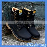 Hogift 2015 new winter warm casual boots male British fashion high-top PU leather men's boots MHo-113