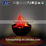 Discounted 12V 5W imitation flame artificial fire bowl for xmas decorations
