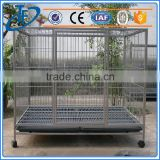 low price folding metal mesh dog cage and wire folding pet crate dog cage