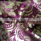 woven twill bronzing velveteen for curtain fabric,sofa cloth and decorative fabric