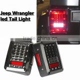 Jee-p LED Tail Lights for 2007-2015 Jee-p Wrangler Tail Light Brake Reverse Light Rear Back Up Turn Singal Lamp DRL