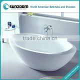 SUNZOOM shower bath tub,tub shower combo,boat shaped bathtub