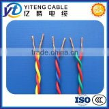 solid or strand Conductor Type and Building wire for power, lighting and control wire Application BVR