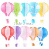 Customized Printed Decor Hot Air Balloon Paper Lantern