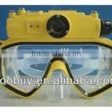 RD34 underwater dive mini camera, scuba diving mask hd camcorder and snorkel                                                                         Quality Choice