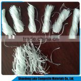 Concrete PP fiber/twisted bundle pp fiber/100% recycled Polypropylene Material/pp stable fiber