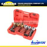 CALIBRE 26pc Universal press and pull sleeve kit bearing bush remove and install sleeve set